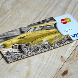 Bezpečnostní obal na platební kartu