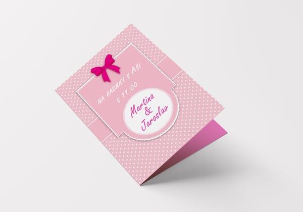 Svatební oznámení A5